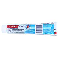 COLGATE Komplett Zahnpasta extra frisch 75 Milliliter - Rechte Seite