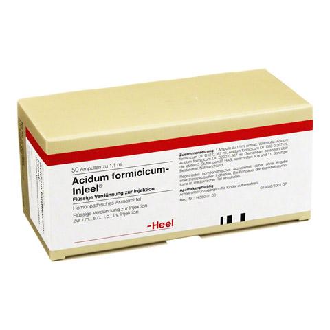 ACIDUM FORMICICUM INJEEL Ampullen 50 Stück N2