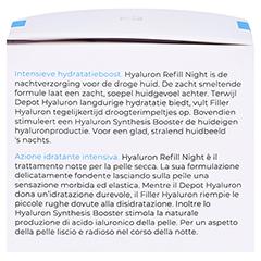 GRANDEL Hydro Active Hyaluron Refill Night Creme 50 Milliliter - Linke Seite