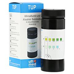 MICROALBUMIN Kreatin Urinteststreifen visuell 25 Stück
