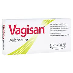 VAGISAN Milchsäure Vaginalzäpfchen 7 Stück