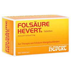 FOLSÄURE HEVERT Tabletten 100 Stück N3
