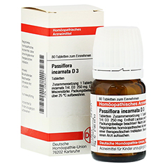 PASSIFLORA INCARNATA D 3 Tabletten 80 Stück N1
