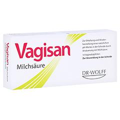 VAGISAN Milchsäure Vaginalzäpfchen 14 Stück