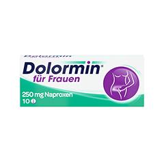 Dolormin für Frauen mit Naproxen 10 Stück