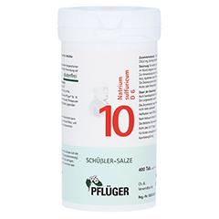 BIOCHEMIE Pflüger 10 Natrium sulfuricum D 6 Tabl. 400 Stück N3