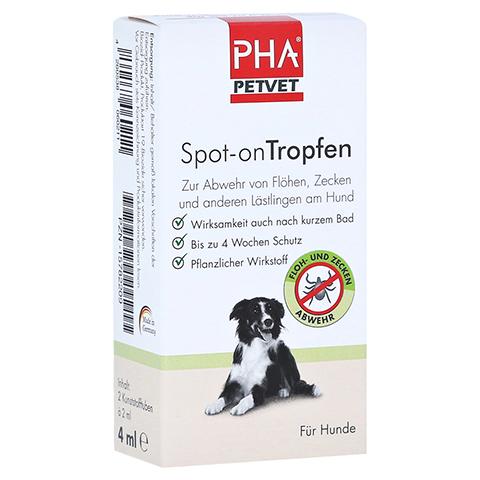 PHA Spot-on Tropfen f.Hunde 2x2 Milliliter