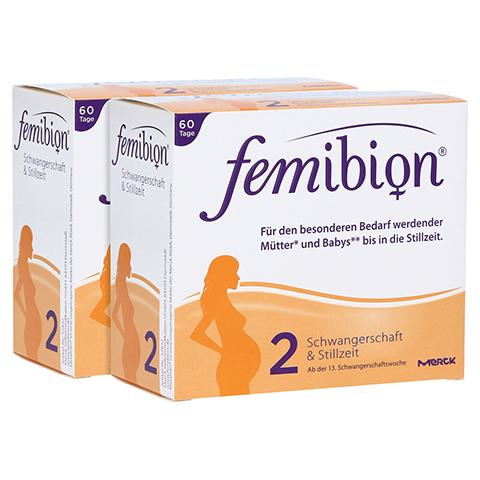 FEMIBION Schwangerschaft 2 D3+DHA+400 µg Folat 2x60 Stück