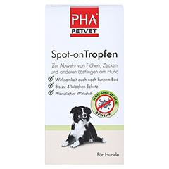 PHA Spot-on Tropfen f.Hunde 2x2 Milliliter - Vorderseite