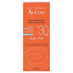Avène SunSitive Sonnenfluid SPF 30 50 Milliliter - Rückseite