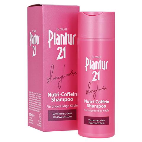 PLANTUR 21 langehaare Nutri-Coffein-Shampoo 200 Milliliter