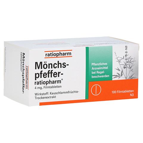 MÖNCHSPFEFFER-ratiopharm 4mg 100 Stück N3