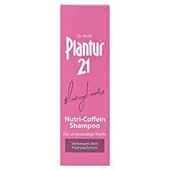 PLANTUR 21 langehaare Nutri-Coffein-Shampoo 200 Milliliter - Vorderseite