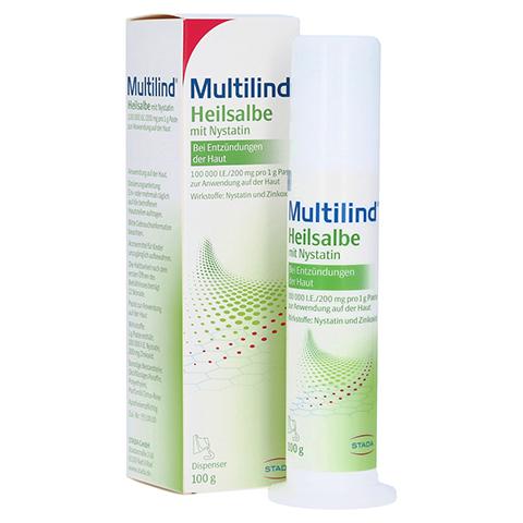 Multilind Heilsalbe mit Nystatin 100 Gramm N3