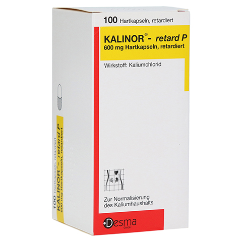 KALINOR-retard P 600mg 100 Stück N3