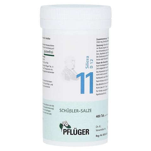 BIOCHEMIE Pflüger 11 Silicea D 12 Tabletten 400 Stück N3