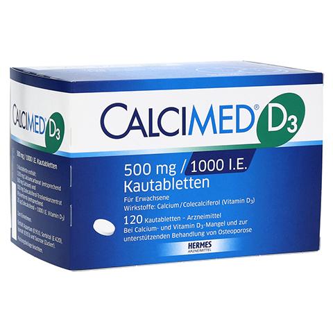 Calcimed D3 500mg/1000 I.E. 120 Stück N3