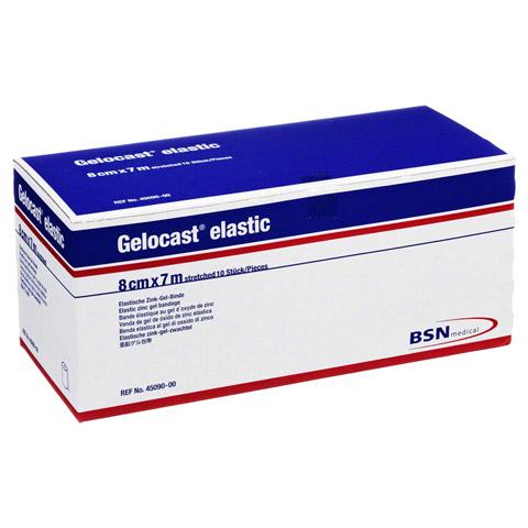 GELOCAST elastic Zink-Gel-Binde 8 cmx7 m 10 Stück