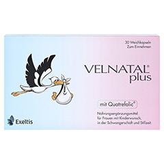 VELNATAL plus Quatrefolic Kapseln 30 Stück - Vorderseite