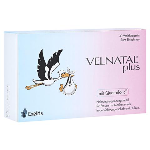 VELNATAL plus Quatrefolic Kapseln 30 Stück