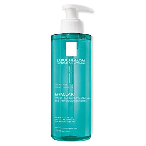 ROCHE-POSAY Effaclar Mikro-Peeling Reinigungsgel 400 Milliliter