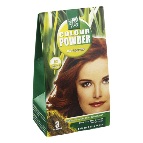 HENNAPLUS Colour Powder mahagony 52 100 Gramm