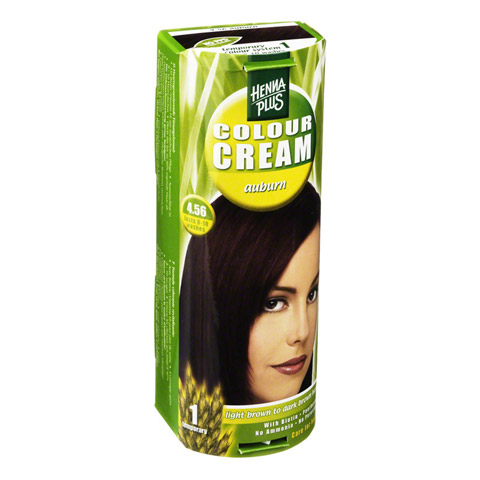 HENNAPLUS Colour Cream auburn 4,56 60 Milliliter