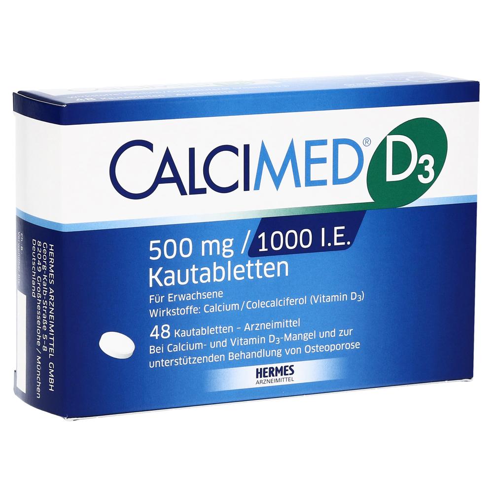 calcimed-d3-500-mg-1000-i-e-kautabletten-48-stuck, 14.99 EUR @ medpex-de