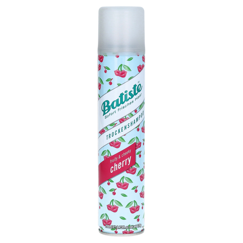 erfahrungen zu batiste trockenshampoo cherry fruity cheeky 200 milliliter medpex. Black Bedroom Furniture Sets. Home Design Ideas