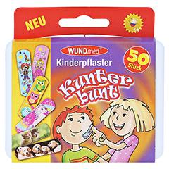 Kinderpflaster Kunterbunt 50 Stück - Vorderseite