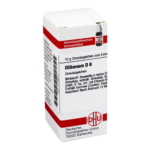 OLIBANUM D 8 Globuli 10 Gramm