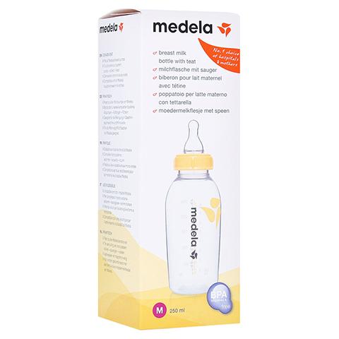MEDELA Milchflasche 250 ml m.Sauger Gr.M 1 Stück