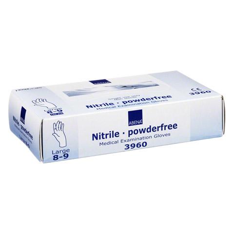 HANDSCHUHE Einmal Nitril L blau 100 Stück