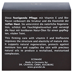GRANDEL Elements of Nature Regeneration Creme 50 Milliliter - Rückseite