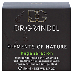 GRANDEL Elements of Nature Regeneration Creme 50 Milliliter - Vorderseite