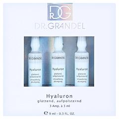 GRANDEL Professional Hyaluron Ampullen 3x3 Milliliter - Vorderseite