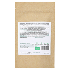 Terra Elements Bio Spirulina Tabletten 500 mg 240 Stück - Rückseite