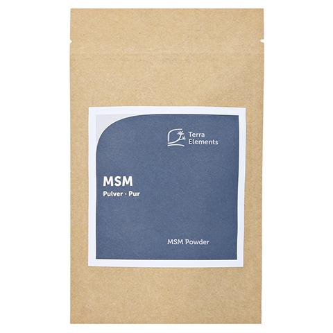 Terra Elements MSM Pulver 100 Gramm