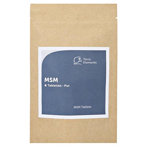 Terra Elements MSM Tabletten 750 mg 160 Stück
