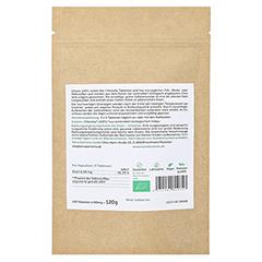 Terra Elements Bio Chlorella Tabletten 500 mg 240 Stück - Rückseite