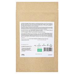 Terra Elements Bio Astragalus Pulver 100 Gramm - Rückseite