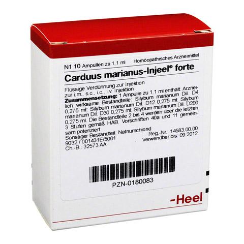 CARDUUS MARIANUS INJEEL forte Ampullen 10 Stück N1