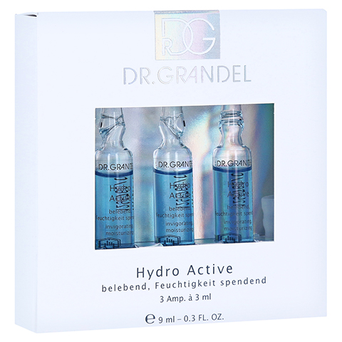 GRANDEL Hydro Active Ampullen 3x3 Milliliter