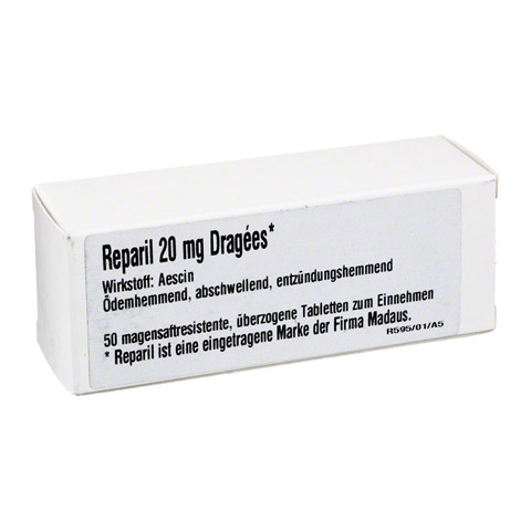 Reparil 20mg Dragees 50 Stück N2