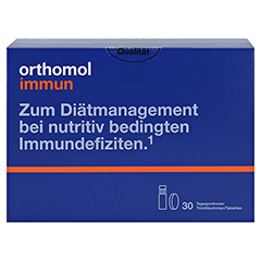 ORTHOMOL Immun Trinkfläschchen 30 Stück - Vorderseite