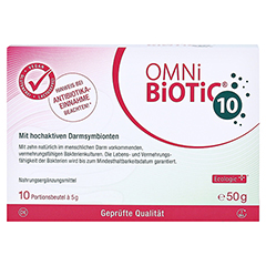 OMNi BiOTiC 10 Pulver 10x5 Gramm - Vorderseite