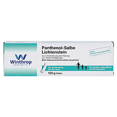 Panthenol-Salbe Lichtenstein 100 Gramm N3 - Vorderseite