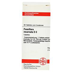 PASSIFLORA INCARNATA D 3 Tabletten 80 Stück N1 - Vorderseite