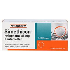 Simethicon-ratiopharm 85mg 100 Stück N3 - Vorderseite