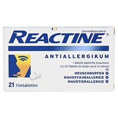 Reactine 21 Stück N1 - Vorderseite